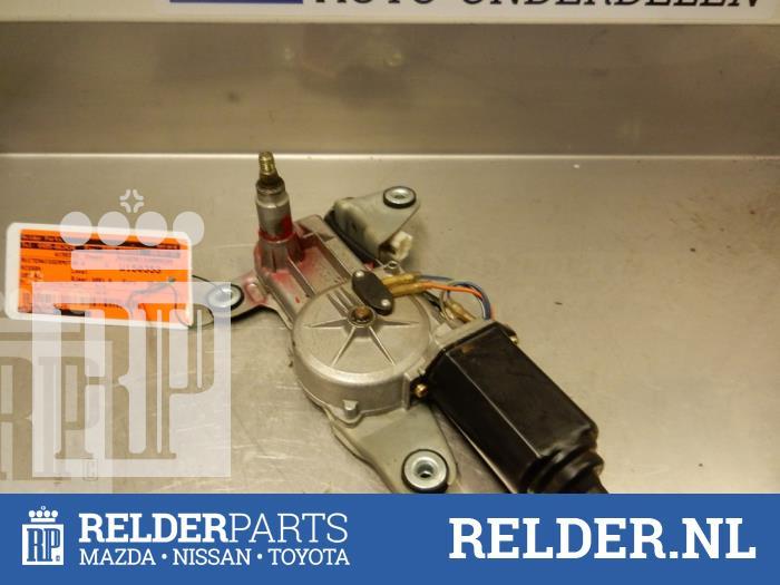 Nissan 100 NX (B13) 1.6 16V 1991 Motor Ruitenwisser achter (klik op de afbeelding voor de volgende foto)