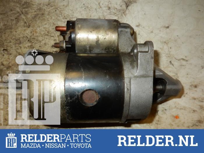 Mazda MX-3 1.6i 16V 1992 Startmotor (klik op de afbeelding voor de volgende foto)