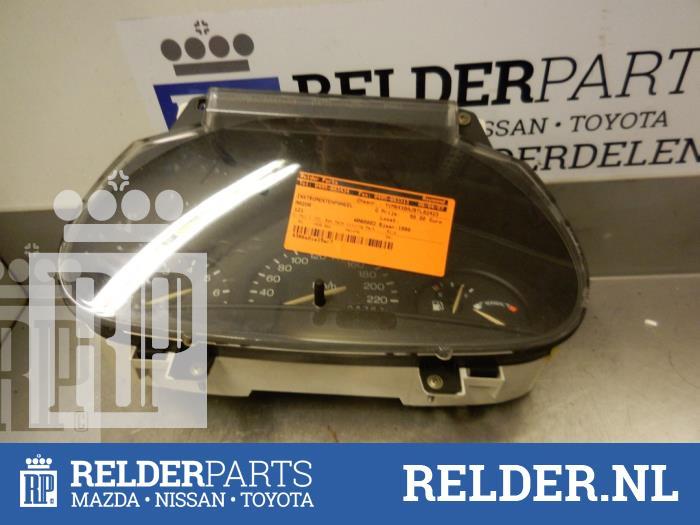 Mazda 121 (JA/JB) 1.3i LX,GLX 1998 Instrumentenpaneel (klik op de afbeelding voor de volgende foto)