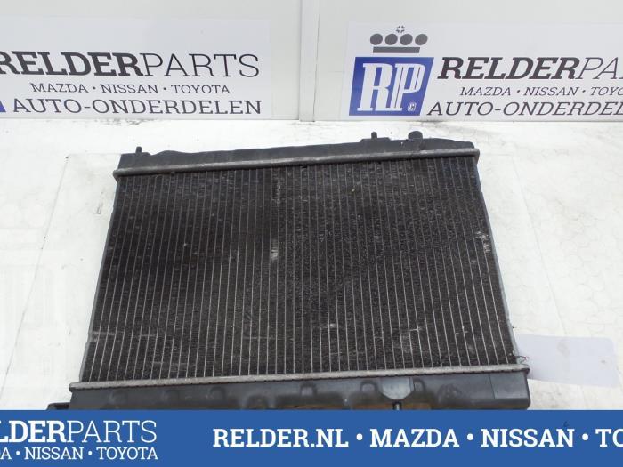 Nissan 100 NX (B13) 1.6 16V 1995 Radiateur (klik op de afbeelding voor de volgende foto)