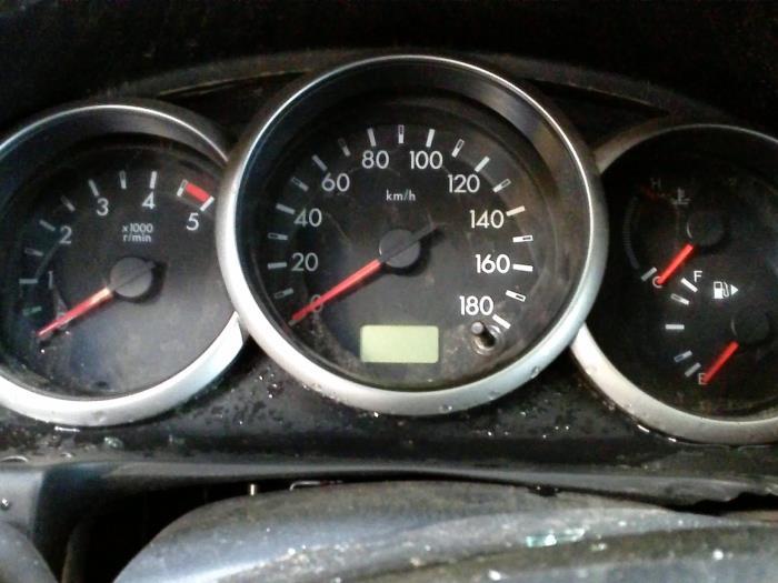 Mazda Ranger 2.5 TDCi 16V Duratorq 4x4 2012 Instrumentenpaneel (klik op de afbeelding voor de volgende foto)
