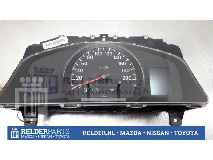 Nissan NV 200 (M20M) 1.5 dCi 86 2011 Instrumentenpaneel (klik op de afbeelding voor de volgende foto)
