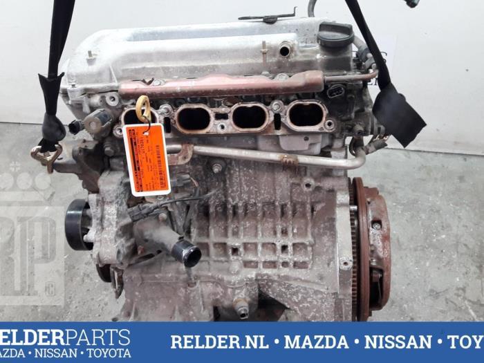 Toyota Corolla (E12) 1.4 16V VVT-i 2004 Motor (klik op de afbeelding voor de volgende foto)