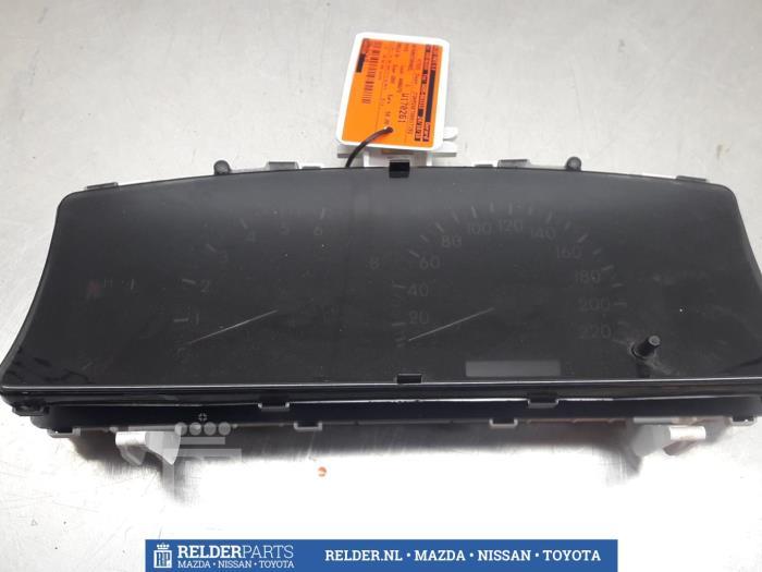 Toyota Corolla (E12) 1.4 16V VVT-i 2004 Instrumentenpaneel (klik op de afbeelding voor de volgende foto)