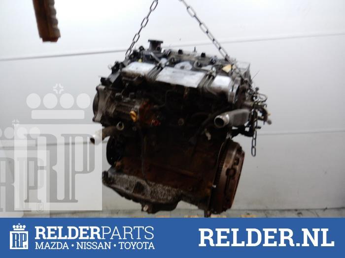 Toyota Corolla (EB/WZ/CD) 2.0 D-4D 16V 2001 Motor (klik op de afbeelding voor de volgende foto)
