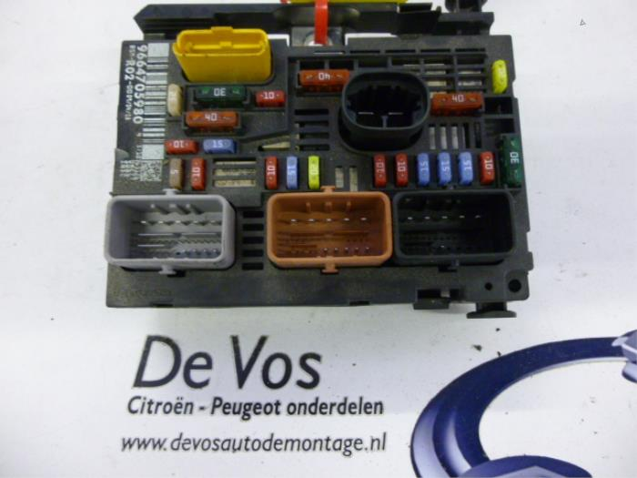 Fuse Box On A Citroen Synergie - Wire Diagram Here Xsara Pico Fuse Box Location on