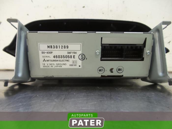 Gebruikte mitsubishi space star dg 1 9 di d display for Auto onderdelen interieur