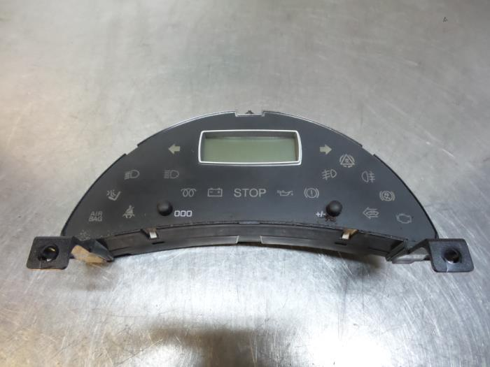 Gebruikte peugeot 807 2 2 hdif 16v display interieur for Interieur 807
