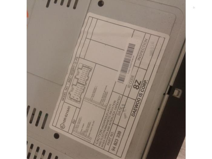 Radio Cd Player For Chevrolet Aveo Agc9232rtsfs10r021645 Japoto