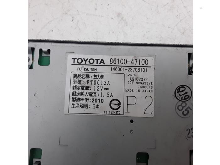 Radio amplifier for Toyota Prius 8610047100,1460012370B101 - Japoto nl
