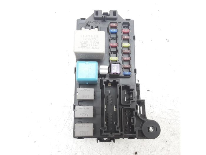 Daihatsu Sirion Fuse Box Manual - Wiring Diagram Code on
