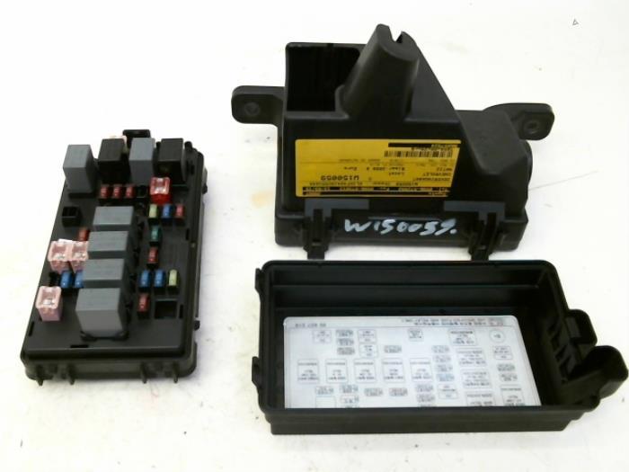 Fuse box for Chevrolet Matiz - Japanese & Korean car parts Daewoo Matiz Radio Fuse on