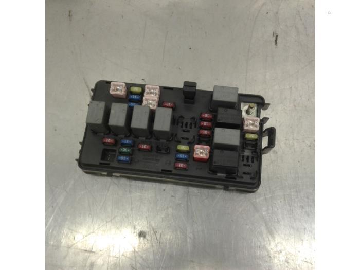 Fuse Box For Chevrolet Matiz