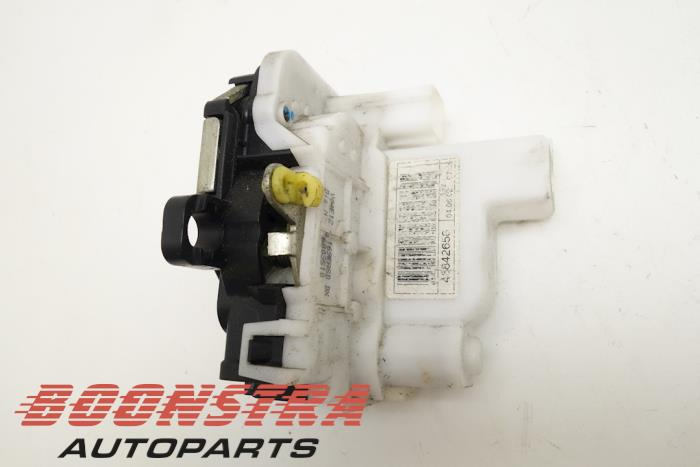 Front door lock mechanism 4-door, right Fiat Panda (46842658, 46803510)