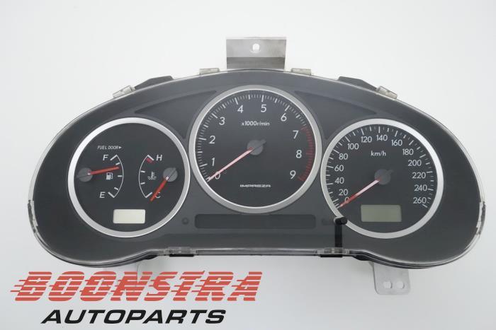 Subaru Impreza Kilometerteller KM