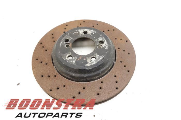 BMW 3-Serie Rear brake disc