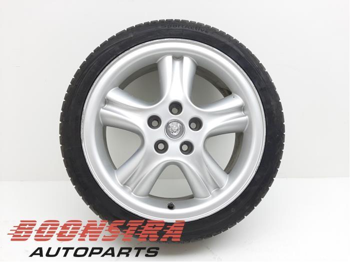Jaguar XJR Felge + Reifen