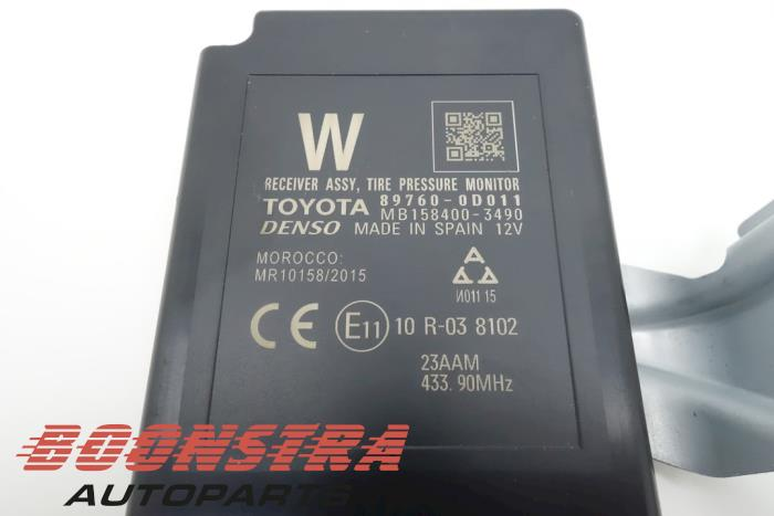 Toyota Yaris Reifendruck Modul