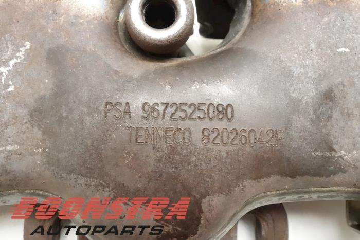 Uitlaatspruitstuk Peugeot 508 (PSA9672525080, 82026042F, 20130330C, 00500497, 0341Q3)