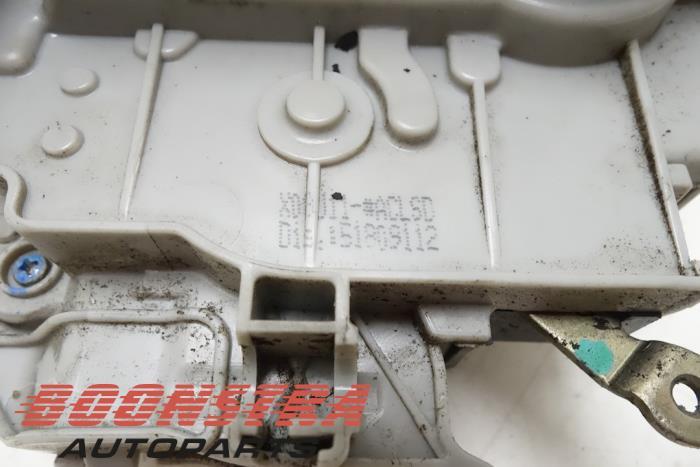 Front door lock mechanism 4-door, right Lancia Delta (51809112, 51929773)