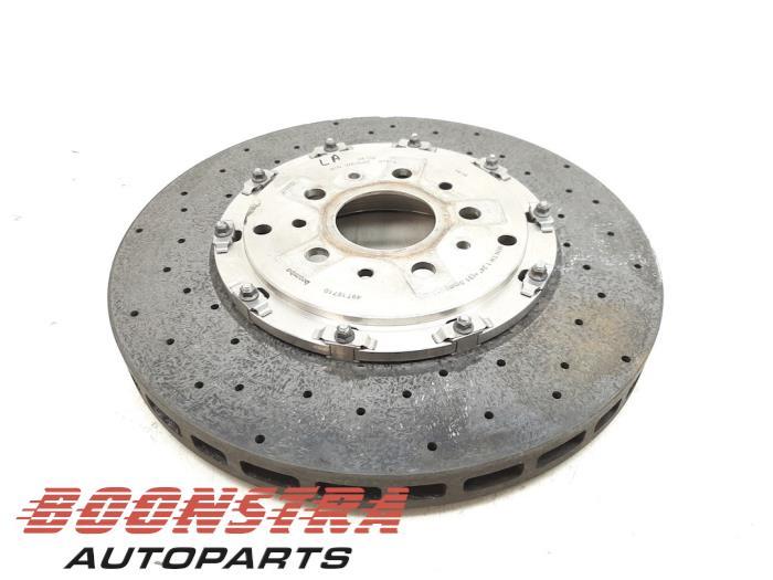 Ferrari 458 Rear brake disc