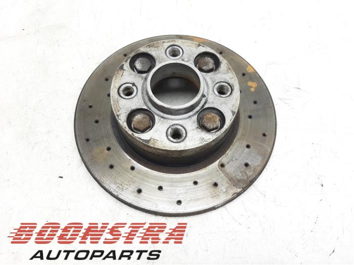 Fiat 500 Abarth Rear brake disc