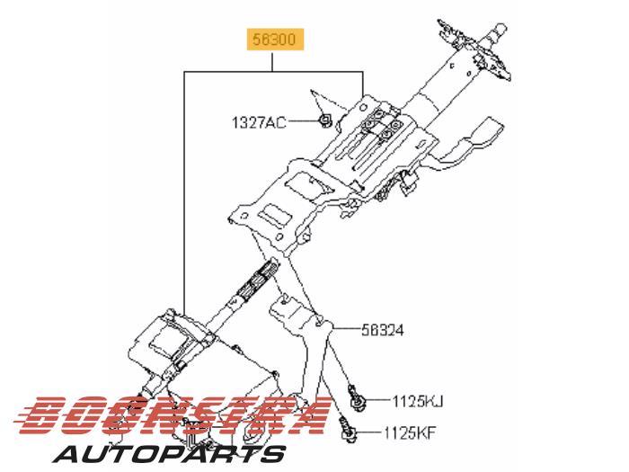 Hyundai I30 Stuurbekrachtiging Elektrisch