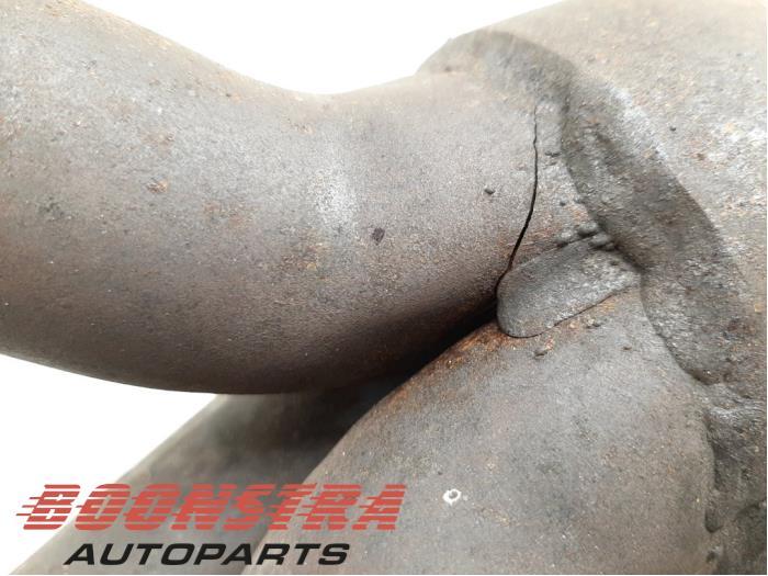 Uitlaatspruitstuk Porsche Boxster (98711310505, 987113105AX, 98711310506)