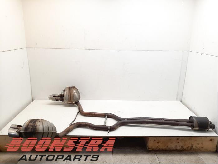 Porsche Panamera Exhaust rear silencer