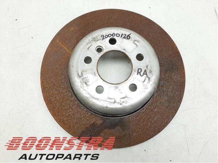 BMW 4-Serie Rear brake disc