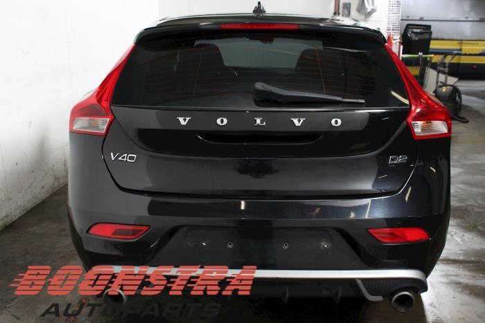 Volvo V40 Exhaust rear silencer