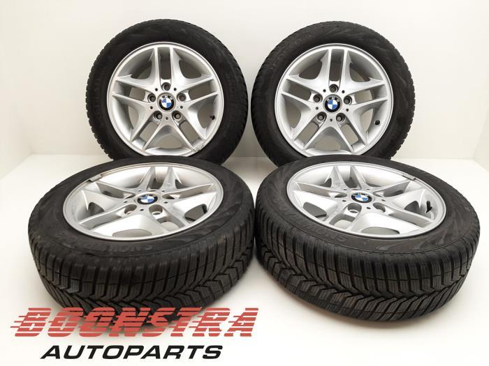 BMW 3-Serie Felgen Set + Winterreifen