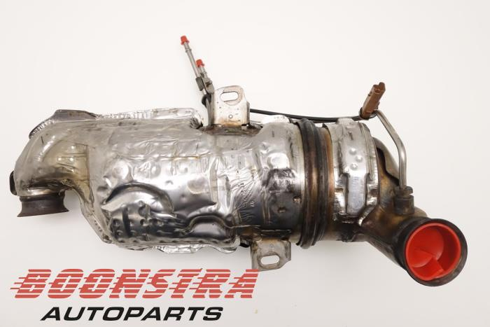 Peugeot 508 Particulate filter