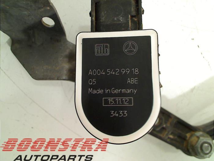 Mercedes A-Klasse Stabilisatie Regel Sensor
