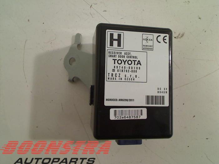 Toyota Yaris Module keyless vehicle