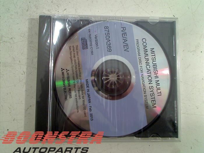 Boonstra Autoparts - Gebruikte Navigatie CD voor accessoires