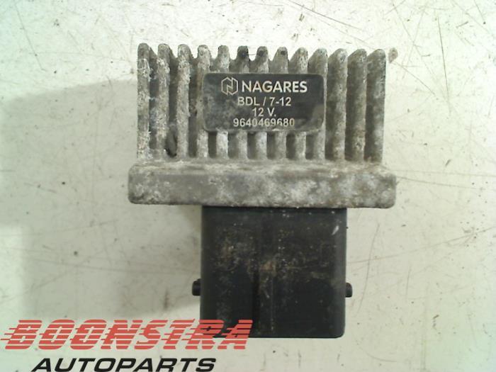 Peugeot 207 Voorgloei Relais