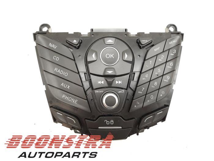 Ford Fiesta Navigatie bedienings paneel