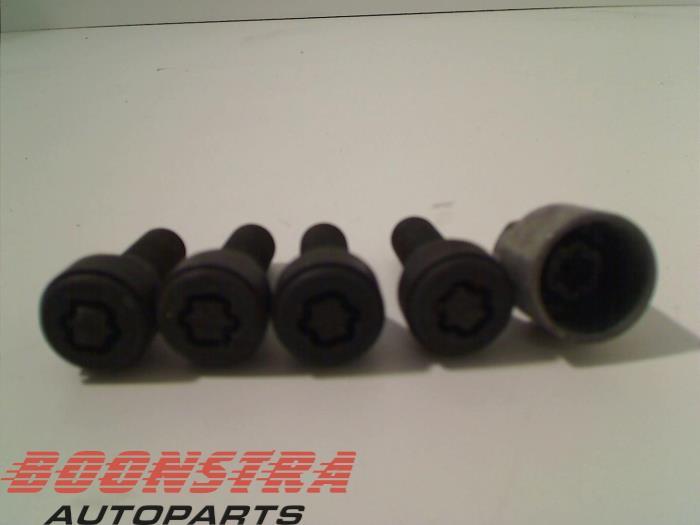 Mini Cooper S Radschloss Set