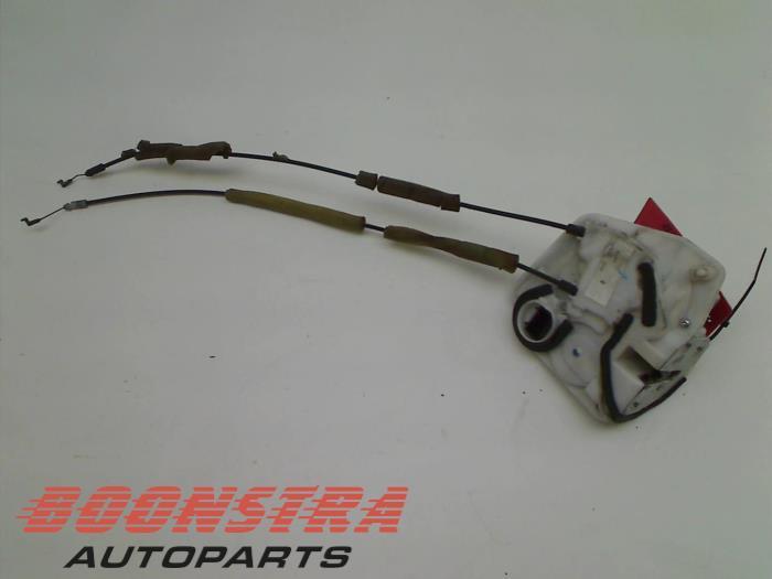 Mazda 6. Rear door lock mechanism 4-door, left