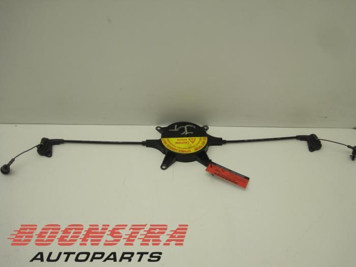 Mini Cooper Tailgate lock mechanism