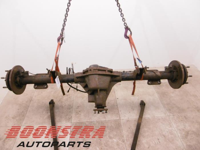 Ford Transit Achteras achterwielaandrijving