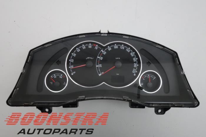 Opel Meriva Kilometerteller KM