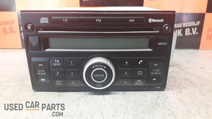 Radio CD Speler - Nissan Tiida - O33915