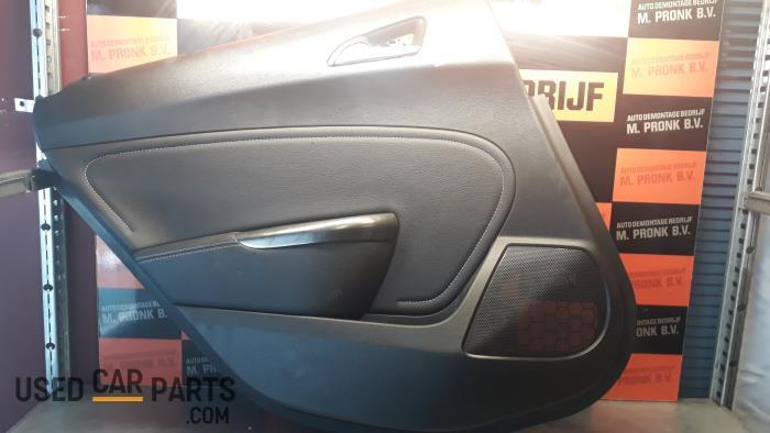 Portierbekleding 4Deurs links-achter - Opel Astra - O25732