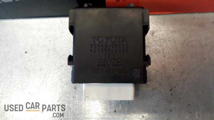 Ruitenwisser Module - Toyota Yaris - O32298