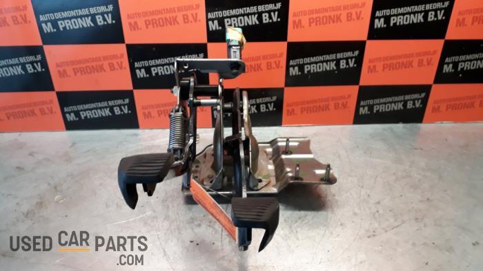 Pedalen Set - Peugeot 207 - O34561