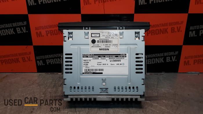 Radio CD Speler - Nissan Micra - O33914