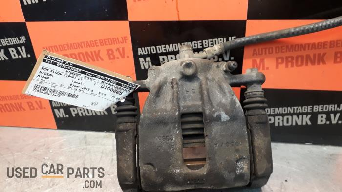 Remklauw (Tang) links-voor - Nissan Micra - O37994