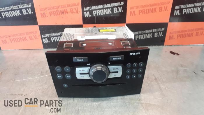 Radio CD Speler - Opel Corsa - O33895